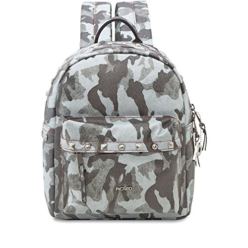 PICARD Rucksack HARRIET mit Nieten Camouflage-Look