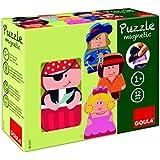 Goula - 55237 - Jouet De Premier Age - Puzzles Personnages Magnétiques