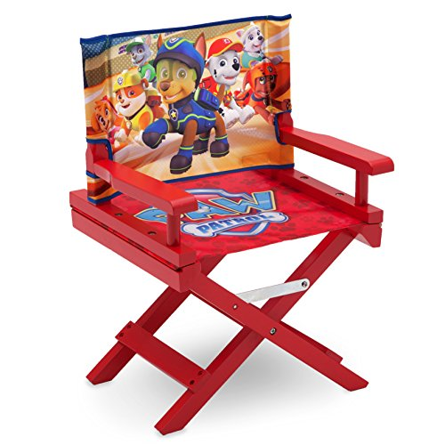 Delta Children TC85980PW Regiestuhl Paw Patrol, Holz, rot, Single, 35.55 x 28.90 x 53.35 cm