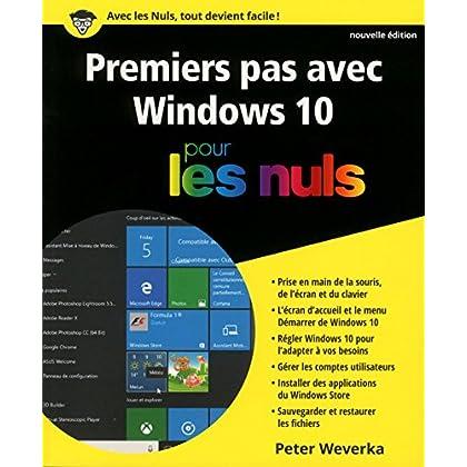 Premiers pas avec Windows 10 pour les Nuls, nouvelle édition