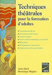 Techniques théâtrales pour la formation d'adultes