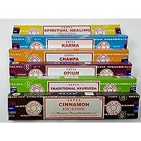 Satya Nag Champa Räucherstäbchen, spirituelle Heilung, Karma, Champa, Opie, traditionelles Ayurveda, Zimt mit... preisvergleich bei billige-tabletten.eu