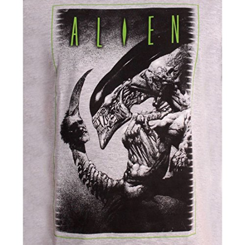 Tshirt Herren Alien–To Be Or Not Grau - Grau