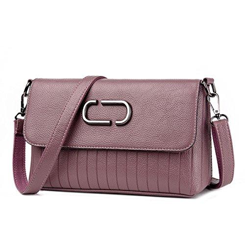 Dame Fashion Handtasche Fashion Leder Casual Fashion Einfache Großzügige Schultertasche Messenger Bag C