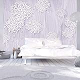 murando - Fototapete Blumen 400x280 cm - Vlies Tapete - Moderne Wanddeko - Design Tapete - Wandtapete - Wand Dekoration - Blume Abstrakt b-C-0008-a-c