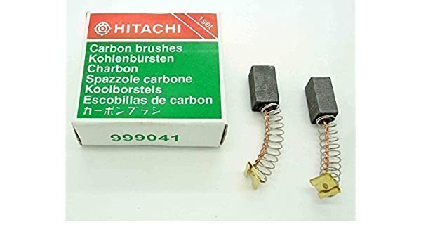 Kohlebürsten Kohlen Motorkohlen für Hitachi DH24PC3 6,5x7,5mm Typ 999-041