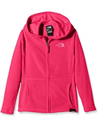 North Face G GLACIER FULL ZIP HOODIE (RECYCLED) - Sudadera, color rosa, talla S