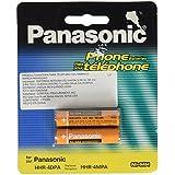 Panasonic HHR-4DPA batería recargable - Batería/Pila recargable (Nickel-Metal Hydride (NiMH), Amarillo, AAA, KX-TG1032/33/34 KX-TG823x Series KX-TG63xx Series KX-TG93xx Series KX-TG43xx Series KX-TG1061/62)