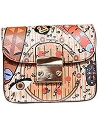 B : Women Handbag With Chain , YOYOUG Women Messenger Bag Crossbody Small Chain Shoulder Bags Tote Purse Women...