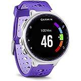 Garmin Forerunner 230 - Reloj de carreja con GPS y funciones de conexion, unisex, color morado y blanco, talla regular