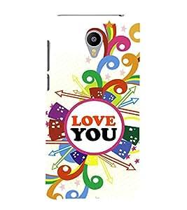 Fabcase Design of love Designer Back Case Cover for Meizu M2 Note :: Meizu Note 2