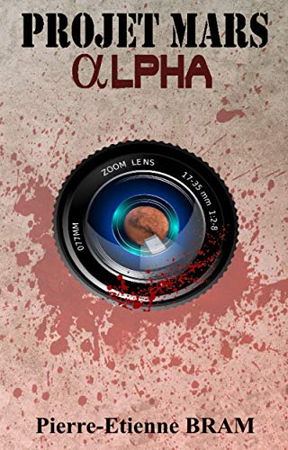 Couverture du livre Projet Mars Alpha