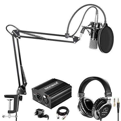 Neewer NW-700 Pro Micrófono Condensador Auriculares