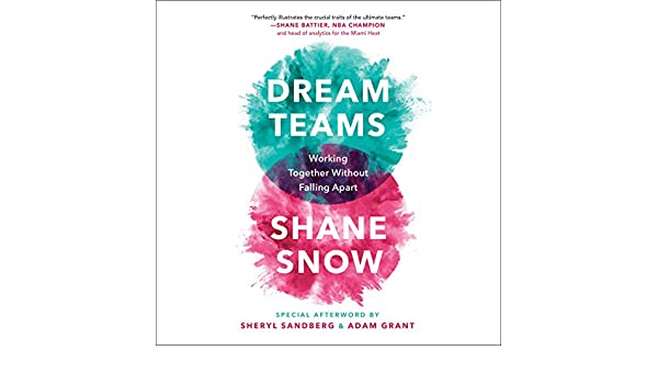 Dream Teams Working Together Without Falling Apart Shane