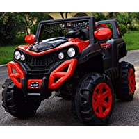 Electric Ride on Car for Kids with Rechargeable 12V Battery, Music, Lights Baby Toy Cars with RC Controlled Motor Jeep…