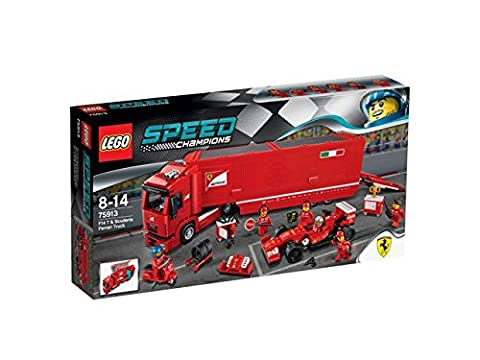 LEGO 75913 Speed Champions F14 T and Scuderia Ferrari Truck Set