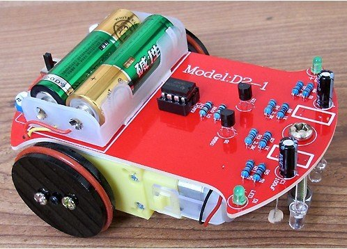 D2-1 Type Line Follower - Linien folgender, autonomer Roboter im