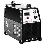 Stamos Power - S-CUTTER 90 - Plasmaschneider - Schneidstrom bis 90 Ampere - Schneidleistung von 25 mm - 60% Einschaltdauer - stufenlos einstellbarer...
