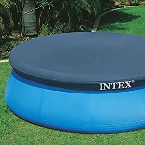 Intex 28020 - Telo di copertura estivo per piscine easy tonde diametro 244cm