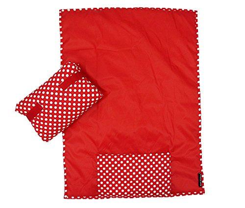 Wobbly Walk Changing Mat / Diaper Clutch Mat (Red)