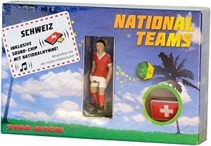 Consejo de Kick 031193-Portería Star futbolín de Suiza en Caja con Himno