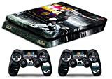 Skin Ps4 SLIM - LIONEL MESSI FC BARCELLONA - limited edition DECAL COVER Schutzhüllen Faceplates playstation 4 SONY BUNDLE