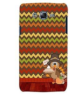 Citydreamz Multicolor Zig Zag Lines Hard Polycarbonate Designer Back Case Cover For Samsung Galaxy On7