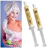 Moisturizing Repair Dry Damaged Maintenance Keratin Treatment Hair Mask with Hair Dryer Hooded Dryer Hair Cap