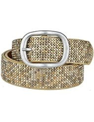 Bags4Less cinturón con tachuelas con piel Model: libra 145-017