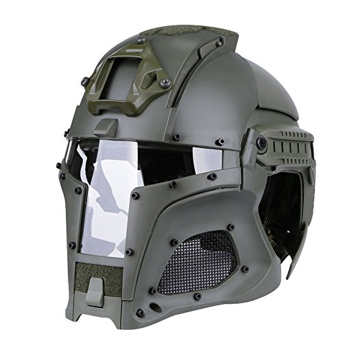 SUNRIS tattico Militare Ballistic Helmet Side Rail Nvg Sindone Transfer  Base Army Combat Airsoft Paintball Full 8d7bb1db0641