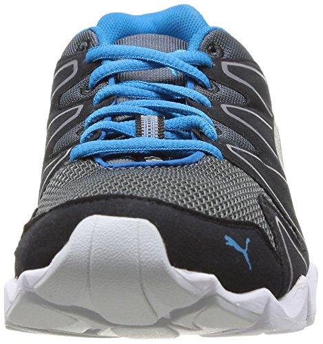 Puma Shintai Runner Nm, Chaussures de sports extérieurs homme Noir (Turbulence/White/Black/Blue)