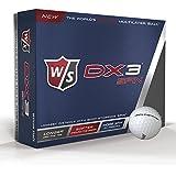2016 Wilson Staff DX3 Spin Soft Multilayer Golf Balls - Dozen (12Balls)