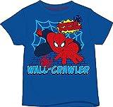 Boys Spiderman 100% Cotton TShirt Top
