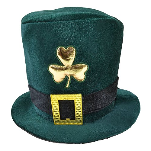 Die Irische Rugby-irland (Bristol Novelty bh398Samt Irische Hat, grün, One Size)