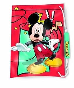 DISNEY THEME TV CHARACTER CHILDRENS KIDS SWIM SWIMMING PVC DRAWSTRING SPORTS SCHOOL BAG (MICKEY MOUSE)
