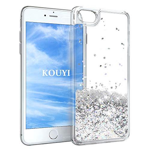 KOUYI Cover iPhone 6S,Cover iPhone 6, 3D Glitter Chiaro Liquido ...