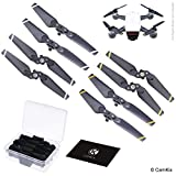 Propellers for DJI Spark - 2 Sets (8 Blades) - With Convenient Storage