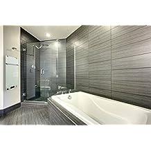 Infrarotheizung Badheizung IBP 750 Inklusive Handtuchhalter & Thermostat mit Fernbedienung Motiv Weiss Badheizkörper