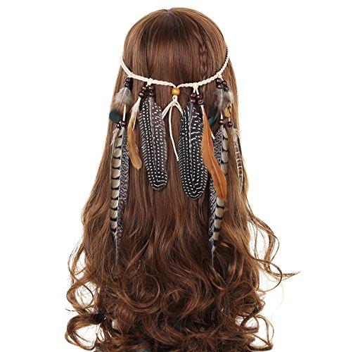 awaytr-hippie-feder-beflockung-perlen-weben-stirnband-quaste-beige-kopfschmuck-haarband