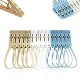 YAMI 15PCS Plastic Clothes Peg Clip Pins Multicolor - Best Reviews Guide