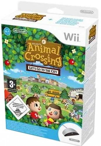 Animal Crossing: Let's go to the City inkl. Wii Speak
