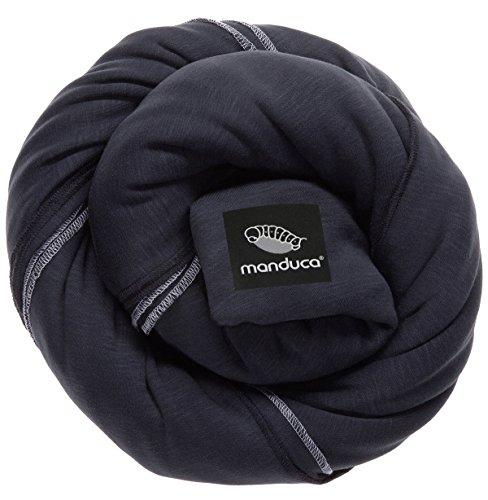 Manduca Sling 233-20-60-001, schwarz, Jersey Tragetuch, GOTS zertifiziert thumbnail