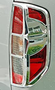 Nissan navara 759119965525 feux tuning cadre chromé