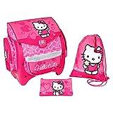 Lizenz Schulranzen Set Club Hello Kitty