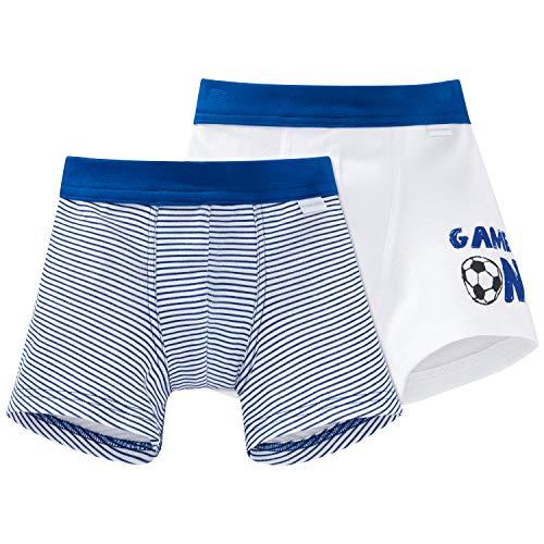 Schiesser Jungen Multipack 2pack Shorts' Boxershorts, Mehrfarbig (Sortiert 1 901), 98 (2er Pack)
