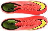 Nike MERCURIAL VICTORY V TF, Herren Fußballschuhe, Pink (Pink;gelb), 43 EU
