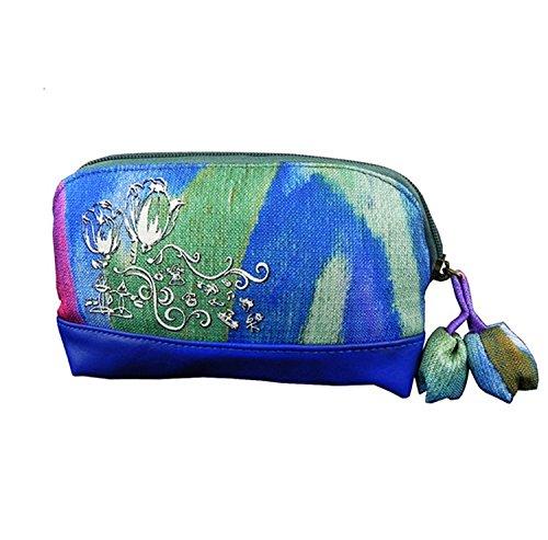 Chino étnico estilo Retro bolso de mano cartera