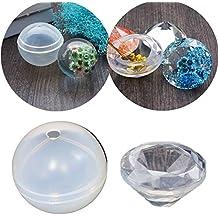 Molde de fundición de resina Molde de diamante Molde de silicona Molde de silicona Herramienta de