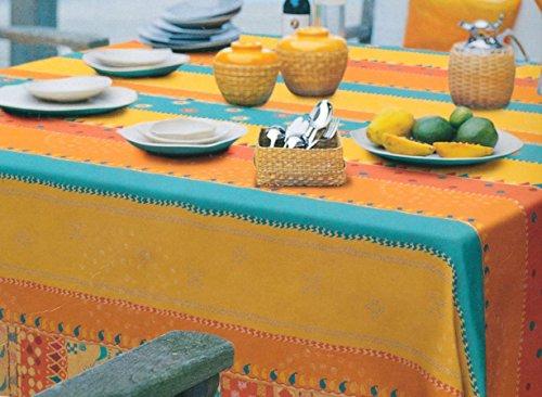 Bassetti telo arredo copridivano 2 posti cotone 270x270 cm arancio - mayo