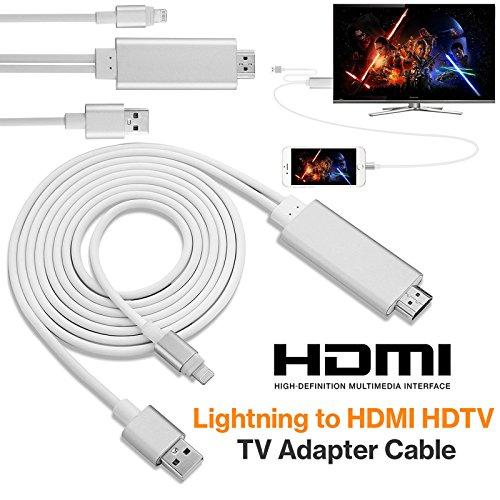 8 Wege Vga Splitter (mycs Neuer 8Pin 2m Apple Lightning auf HDMI HDTV AV Kabel Adapter für iPhone 66S 5S 5)